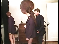 Xana and Lola Portuguese Road Hookers in a Hard Girl Girl