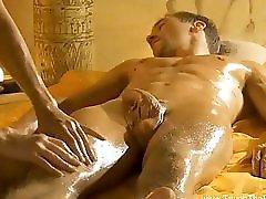 Erotic Golden MILF Massage