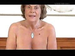 Grandma Martha gets a Facial