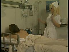 Sexy nurse loves to circumvent their patients