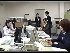 Pantyhose Miniskirt Secretary at Office 2