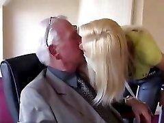 Teen swallow old cum