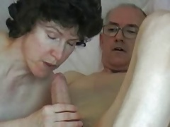 Mature couple grandpa big fat cock