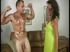 Mature Milks Her Trainers Dick daddi