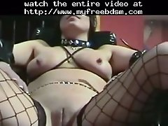 Hottie nipple play bdsm bondage slave femdom dominatio