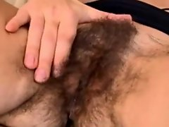 Hairy Sexy Mature Woman Rubs Off WF