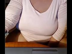 Granny on a webcam