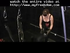 Upside down handjob mistress nice cumshot zdonk bdsm