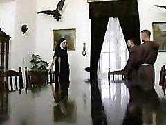 German nun double penetration