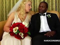 Bridal interracial fuck video