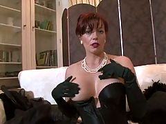 The Hottest Mature Lady in Stockings